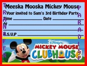 nice invitation we can make at home