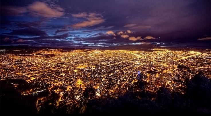 Bogota from the hills