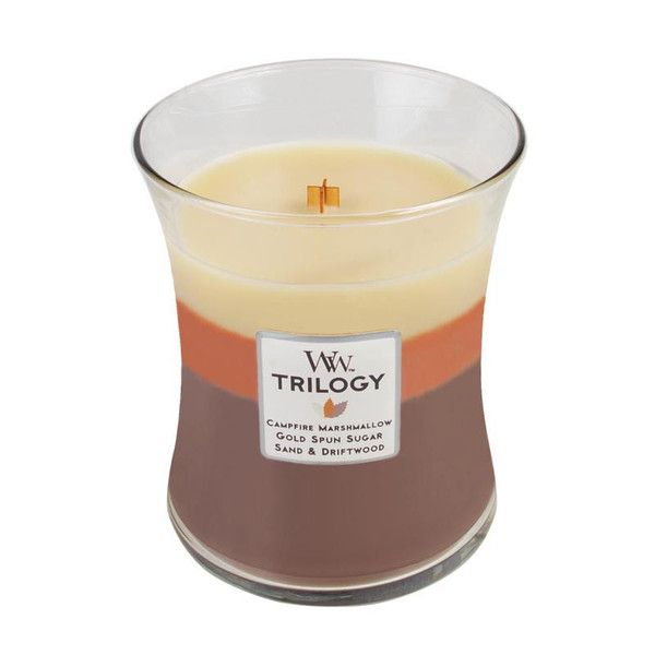 WoodWick Trilogy Sunset Bonfire Scented Candle – Just Scented Candles