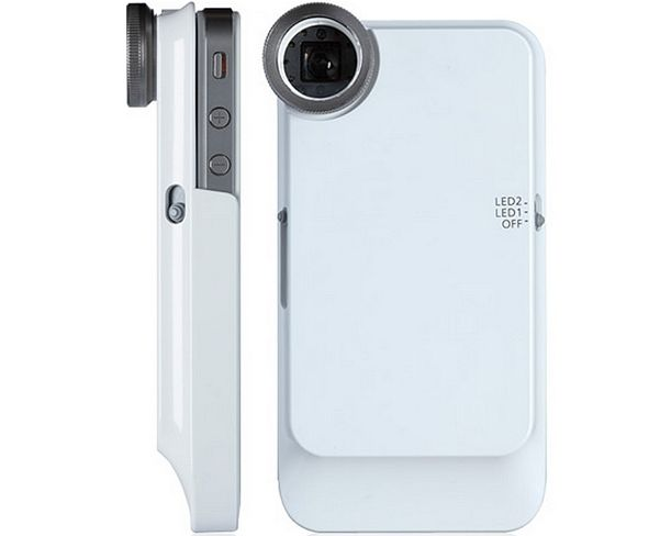 This lens turns your iPhone into a microscope. Holy crap, g33ks! This is awesome!!!
