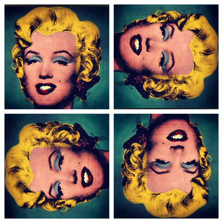 Citaten Marilyn Monroe Instagram : Images about andy s marilyn warhol inspired pop art