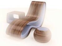 3d design furniture turntable