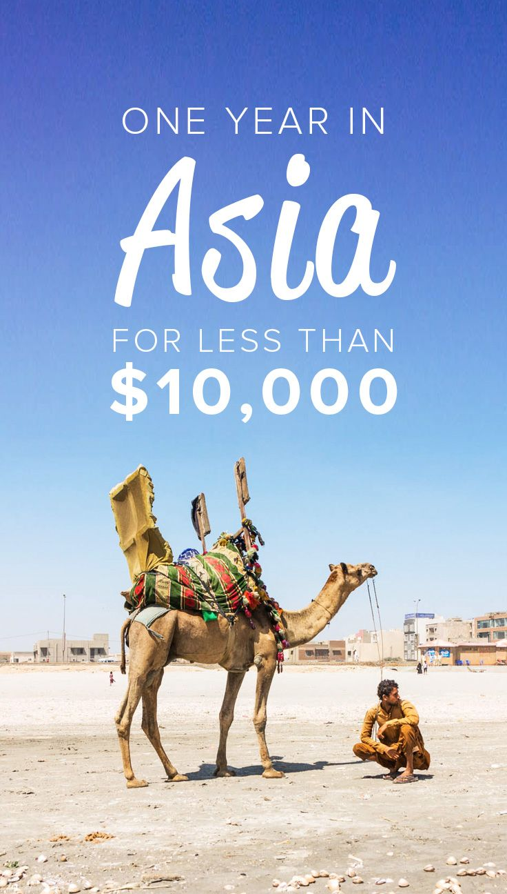 We spent one year backpacking through 10 countries in Eurasia for less than $10,000 per person. Here's exactly how much we spent in each country, and advice on how you can do the same... for even less!