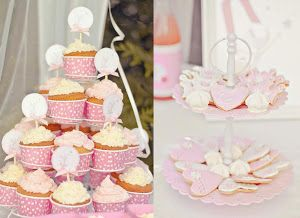 Sweet table Rose thème Repetto - Le Candy Bar | Kit Anniversaire Décoration Sweet table
