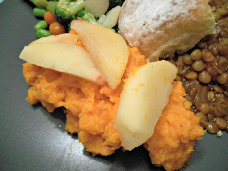 ... Urban Chicken: White Cheddar Mashed Sweet Potatoes with Fried Apples