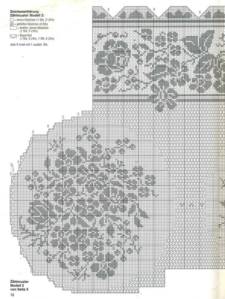 Большая-скатерть-для-стола крючок схема 3