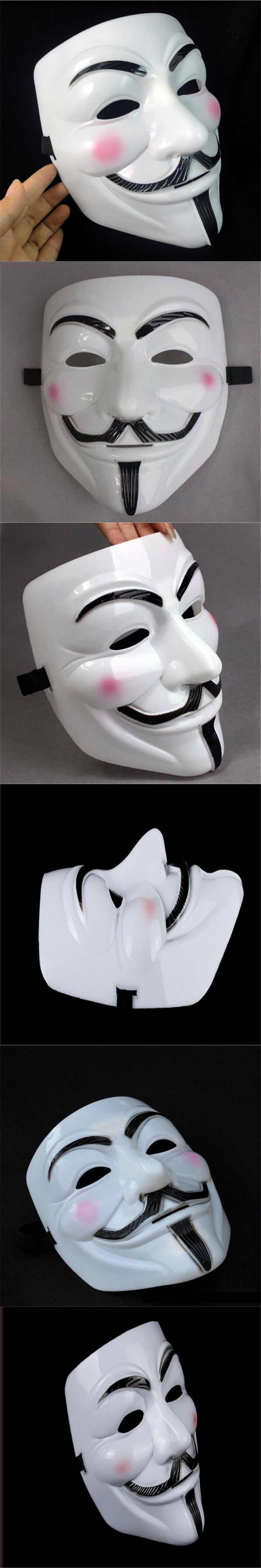 HOT NEW V For Vendetta Masks scary mask Guy Fawkes Halloween Party Mask slipknot masque Fan Cosplay SP Masquerade Horror Grimace