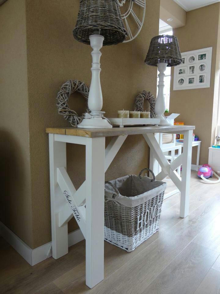 Side Living Room Table Decor