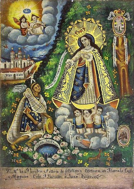 Virgen de Ocotlán  Virgin Mary of Ocotlán, Tlaxcala, Mexico, is the patron saint of Tlaxcala and the neighbouring state of Puebla... by tigreAzul