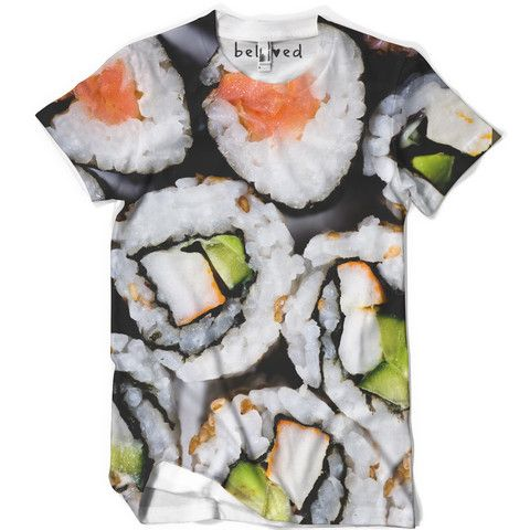 Sushi Men's Tee $39 http://belovedshirts.com/products/sushi-tee