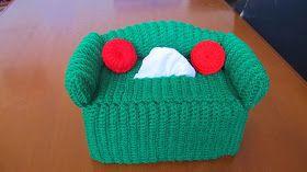 Dengan benang dan Hook ukuran yang sama dengan Tissue box sebelumnya, saya buat ini dengan sc stitch. lihat langkah-langkah pembuatanny...