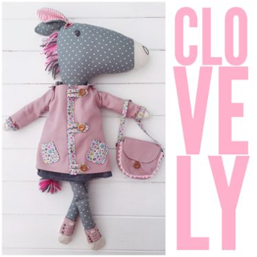 Clovelly Horse and Clothes PDF Sewing Pattern