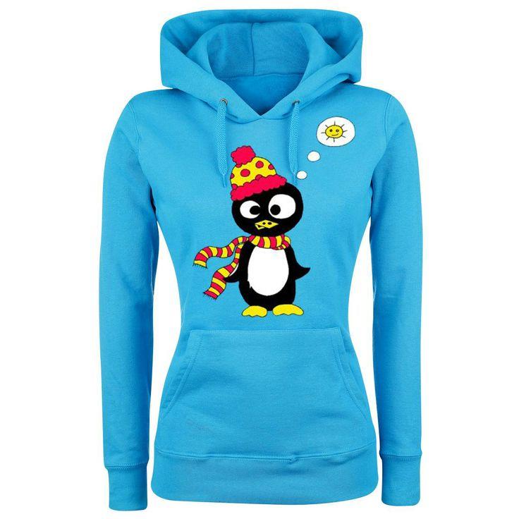 Naisten huppari (Naisten huppari) - Little Pingu