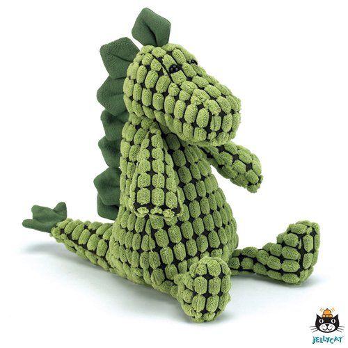 All boys love dino's! En daarom is deze dinosaurus knuffel zo'n groot succes. Een Dino die mee naar bed kan en je beschermt tegen nare dromen.