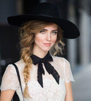 Kapsel onder hoed