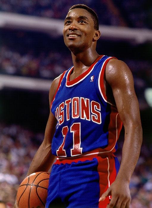 Isiah Thomas Detroit Pistons