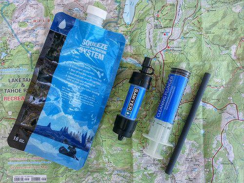 Top 5 des filtre à eau randonnée, camping et voyage