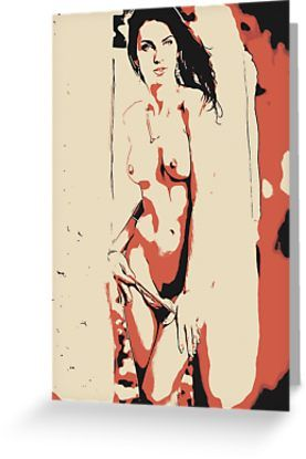 In her eyes - naked girl conte by piciareiss - Also Available as T-Shirts & Hoodies, Men's Apparels, Women's #Apparels, Stickers, iPhone Cases, Samsung Galaxy Cases, Posters, Home Decors, Tote Bags, Pouches, Prints, Cards, Mini Skirts, Scarves, iPad Cases, Laptop Skins, Drawstring Bags, Laptop Sleeves, and Stationeries #art #kinky #naughty #sexy #hot #dirty #redbubble #postcards #collectibles