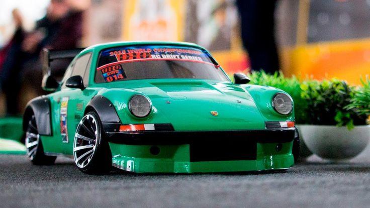 RC DRIFT CAR - Porsche 964 Turbo (RAUH-Welt BEGRIFF)