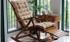 Bamboo Rocker Sandalye Tasarımları