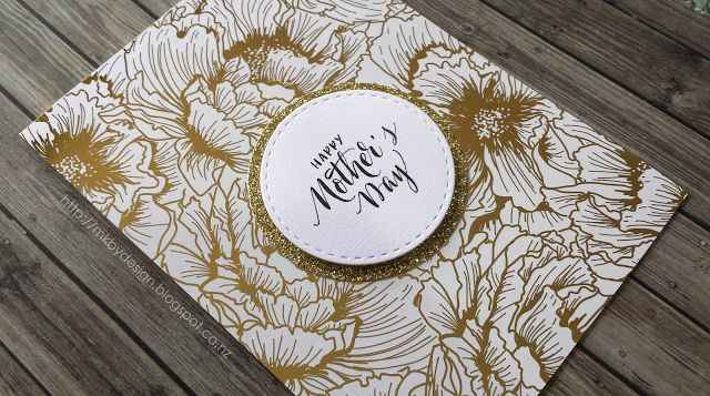 HEIDI SWAPP - FOILED MOTHER'S DAY CARD
