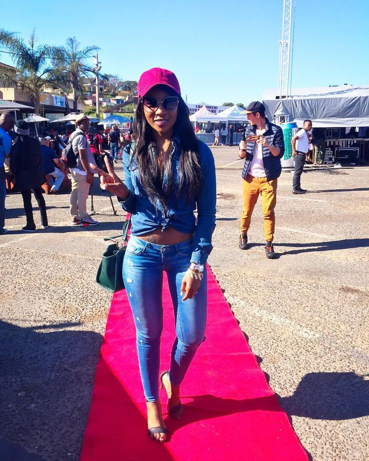 Denim on fleek - Pearl Modiadie