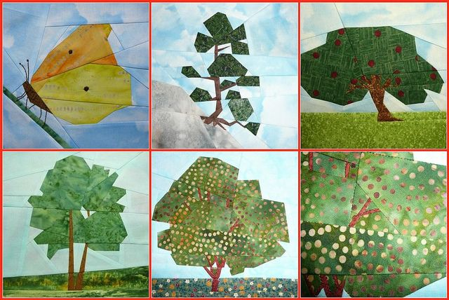 17 Best Images About Pieced Trees Trees Quilt And Paper