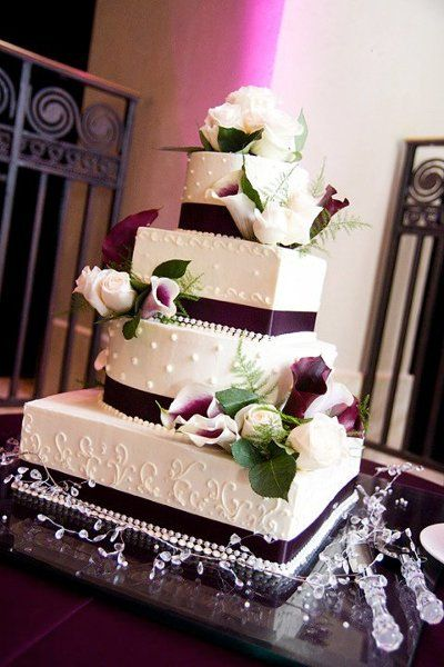 3, 4 and 5 tier multi shaped custom unique wedding cake design pictures, designs and ideas 3 - World Wide Wedding Cake pictures