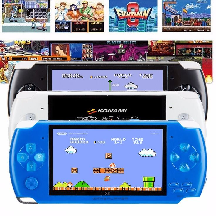 8GB 4.3'' 32Bit 10000 Games Built-In Portable Handheld Video Game Console Player #Unbranded