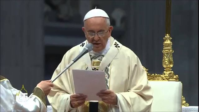 #Pope Francis wants Lord's Prayer changed