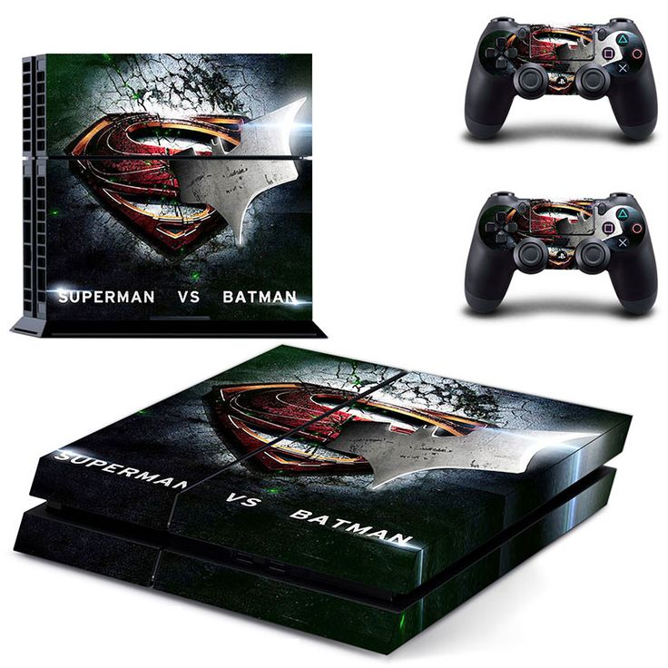 Superman VS Batman PS4 Skin - Limited Time SALE!