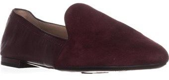 Franco Sarto Zahara Flat Loafers, Mulberry Leather.