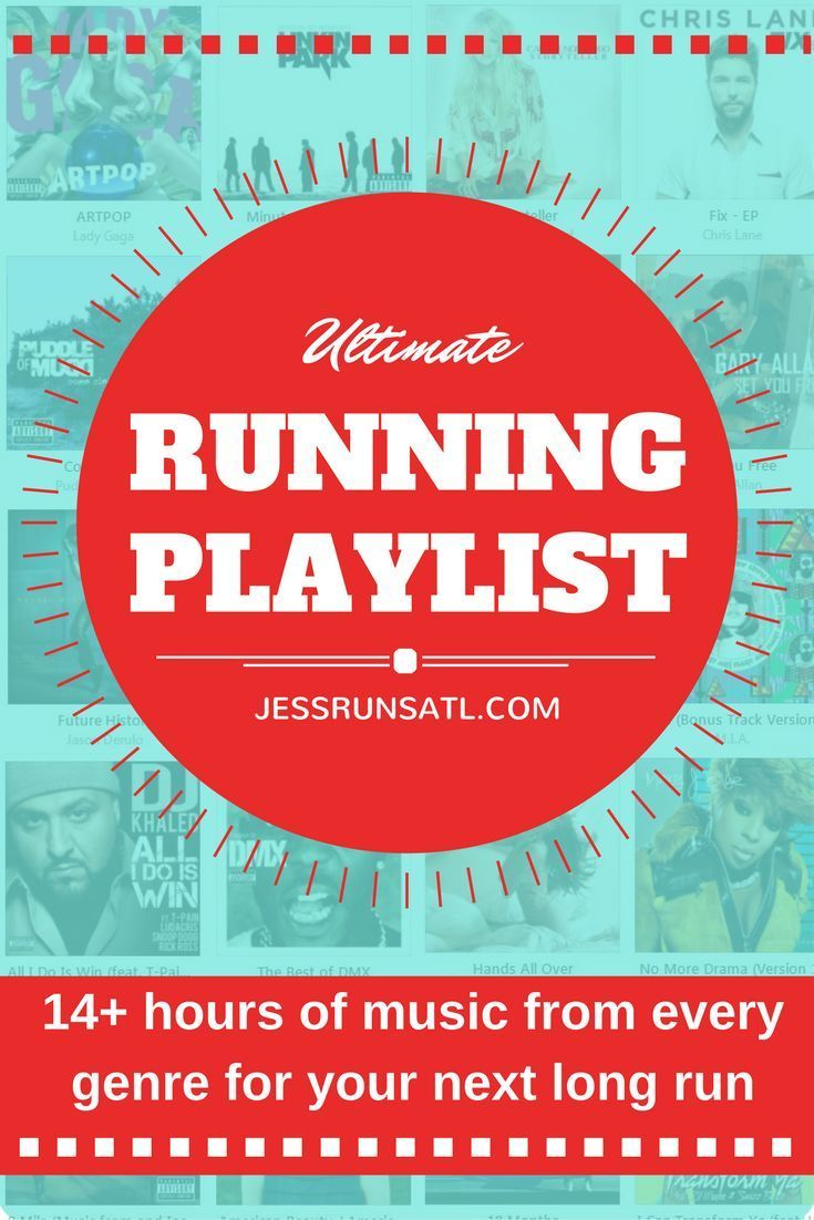 Ultimate running playlist: over 200 songs and 14 hours of music for your next long run, race, half marathon, or marathon. Lots of great songs on this playlist!