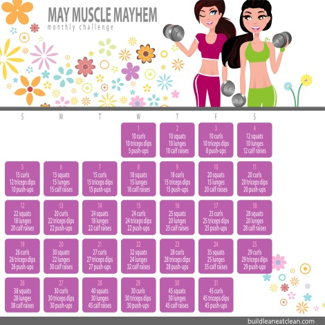 May upper and lower body challenge