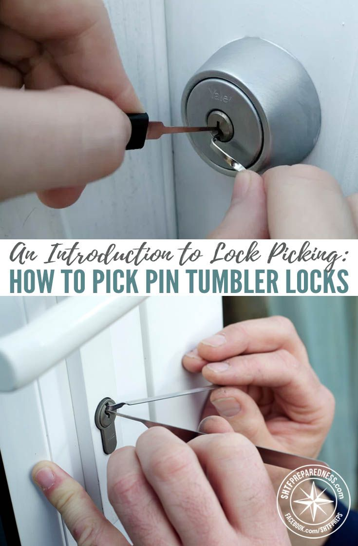 An Introduction to Lock Picking: How to Pick Pin Tumbler Locks — Lock picking is definitely an underrated skill, and one that you will need to have in a SHTF situation. In a crisis your primary concerns are going to be safety, food, and shelter and at some point you're probably going to have to get behind a locked door.