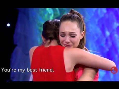 Dance Moms - The Girls Say Their FINAL GOODBYES To Maddie & Mackenzie | S6, E20 - YouTube