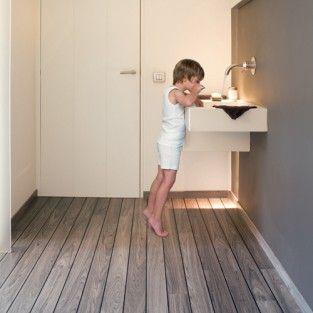 #Laminat für's Badezimmer ist einer der schönsten Trends des neuen Jahrtausends. So kehrt endlich auch ins Bad Gemütlichkeit ein. Hier BerryAlloc Boden für gerade mal 42,75€/m²