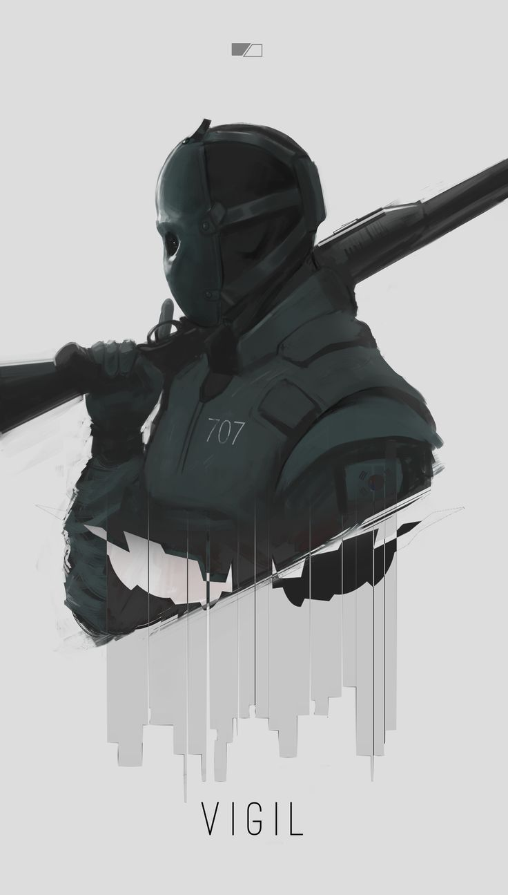 Vigil (Rainbow Six: Siege) by GreenFireArtist
