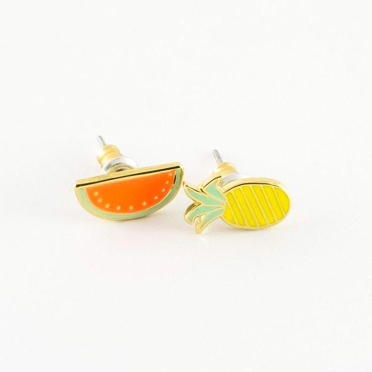 Fruit Earrings - 22K Gold - Best gift ever! - Made of Sundays