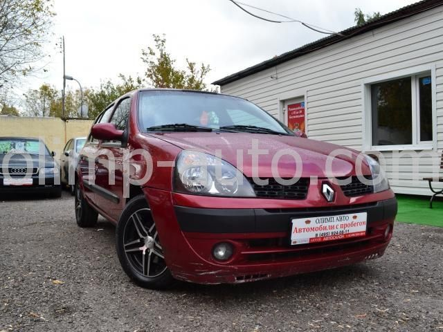 Renault Clio II Рестайлинг 2, 2004 г.в. -