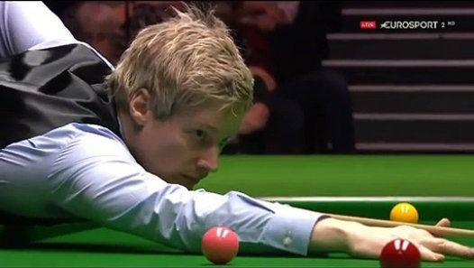 Before that no one can go one absolute body points (147) in a snooker finals, Neil Robertson(no 3 World) was the first to do this in the UK Snooker Championship final in London, England