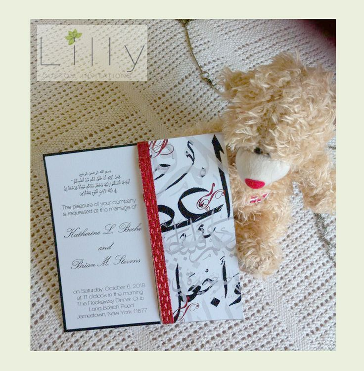 Item Code: c003 #Handmade #invitation card perfect for #weddings, #engagements and #bridal shower. Color, Font and text can be edited to your desire Oder now: Lillycustom@gmail... Local pickups available in Brisbane and Sydney or shipping fees apply