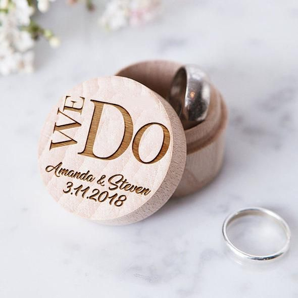 Wedding Ring Box, Ring Bearer Rustic Box, Wedding Decor, Wood Wedding Bands Box, Bride and Groom, Mr and Mrs, Wedding rings holder, Wedding