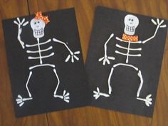 10 Halloween Crafts for Kids I want to do this on wood blocks