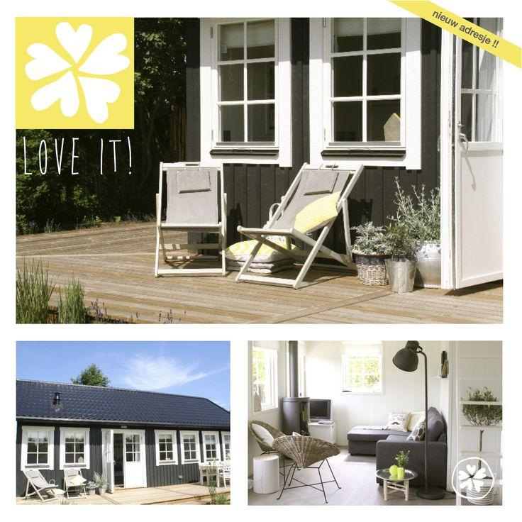 Nieuw adresje: Huisje van Hout in Noordwijk voor 6 pers. Dit vakantiehuisje wil je toch stiekem zelf hebben, geweldig! Net geopend dus er is nu nog plek, grijp je kans