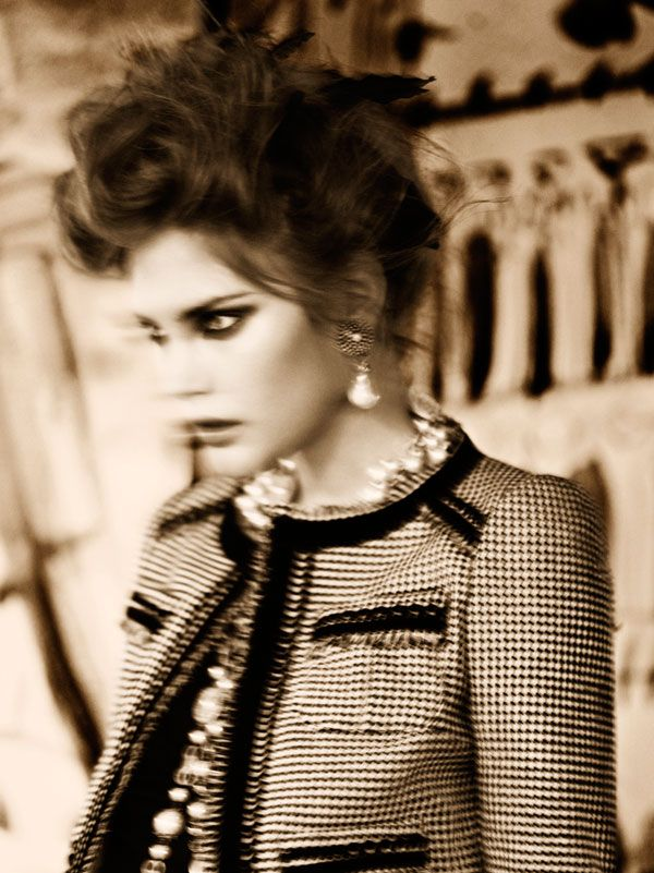 EDITORIAL | Catherine McNeil by Greg Kadel for VOGUE Italia Oct 2009 — william yan