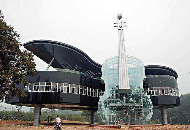 Piano House-Huainan City, China