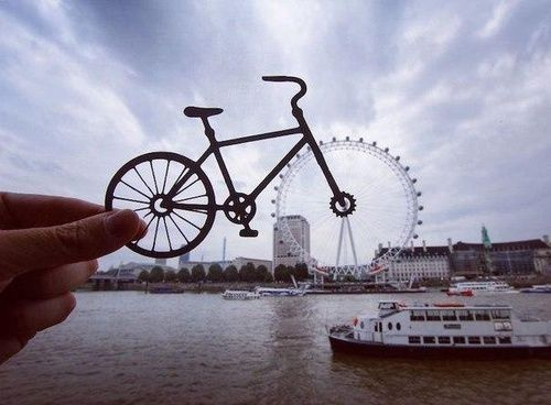 Image de london, bike, and bicycle