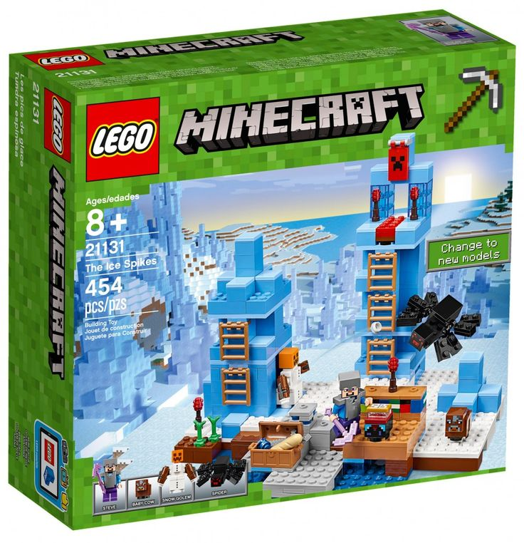 LEGO Minecraft 21131 : Les pics de glace