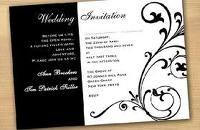 invitationBlackandwhite, Ideas, Black And White, Colors, Black White, White Weddings, Theme Wedding, Cheap Wedding Invitations, Wedding Invitations Design